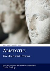 Aristotle: On Sleep and Dreams